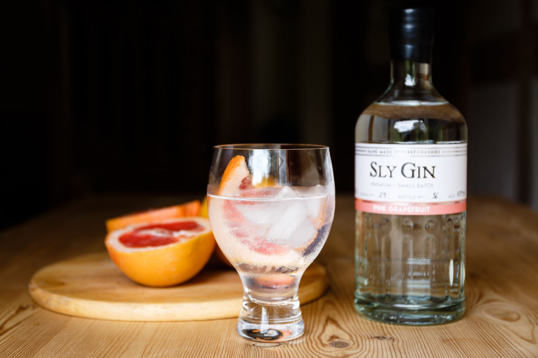 Sly Pink Grapefruit Gin