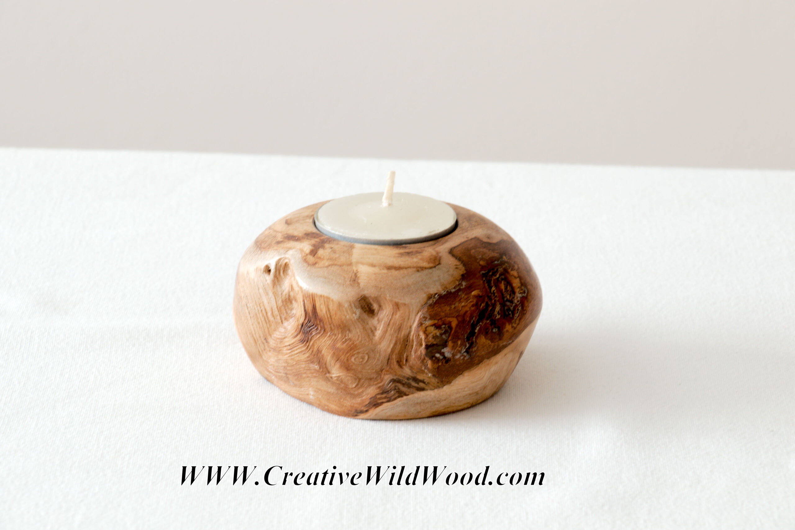 Sweet Chestnut Tea Light – Candle Holder