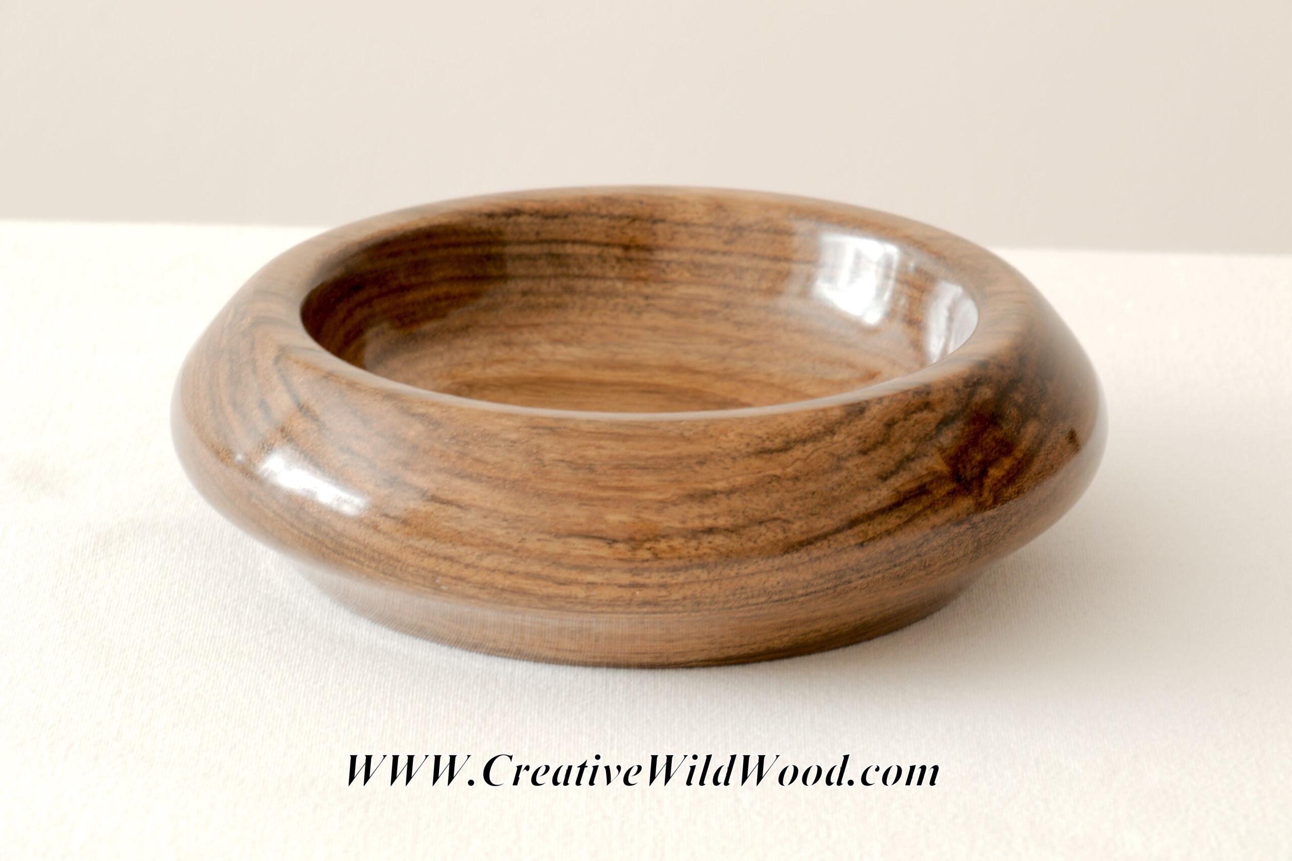 Ovangkol (Guibourtia ehie) Bowl