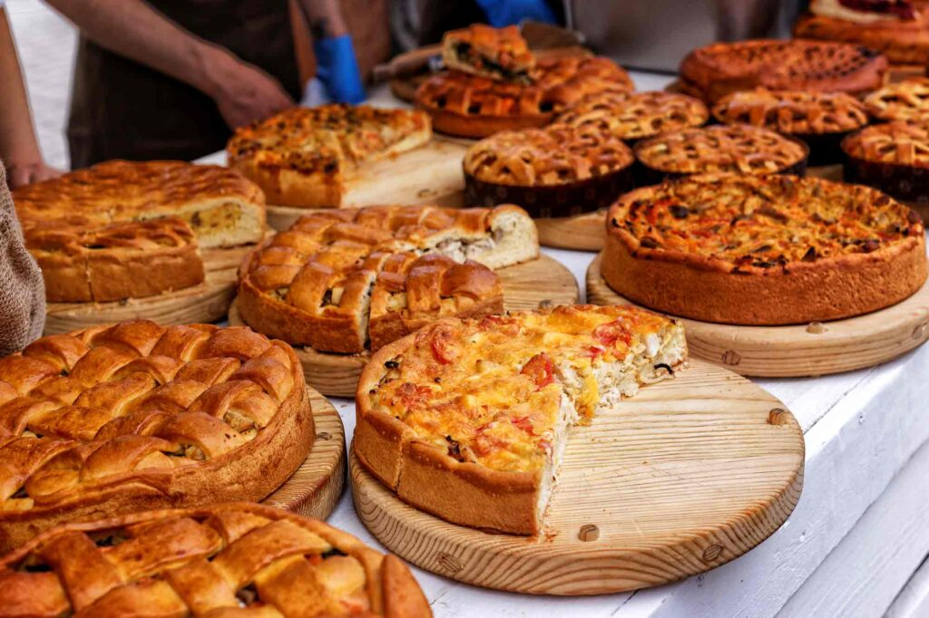 Wye Valley Food Festival Pies