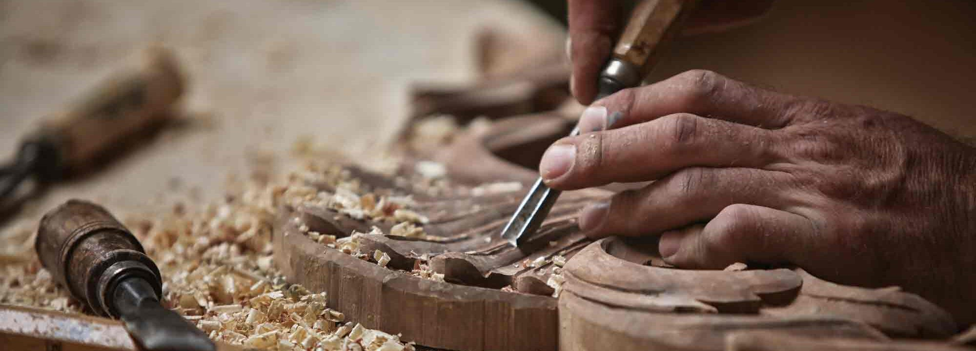 Wye Valley Food Festival Wood Working
